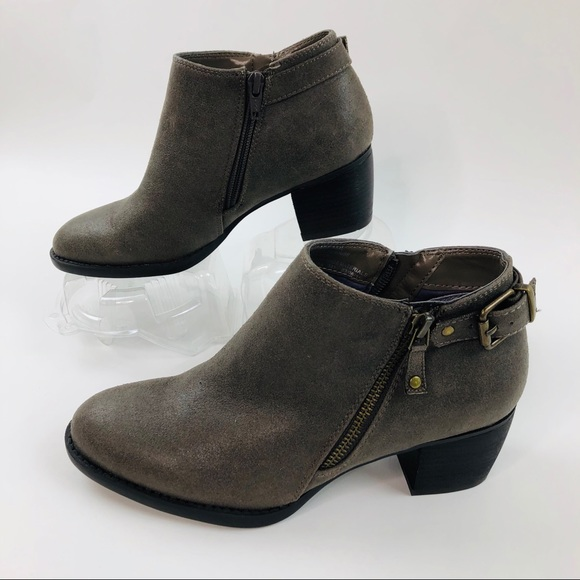 White Mountain Ankle Booties Womens